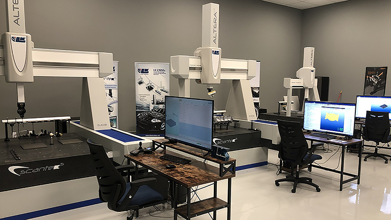 Fig. 2 Current LK Metrology Services lab has three LK CMMs (1).jpg